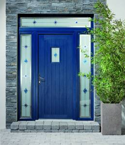 APY2 blue door