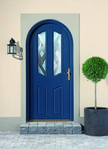 Single Blue Door